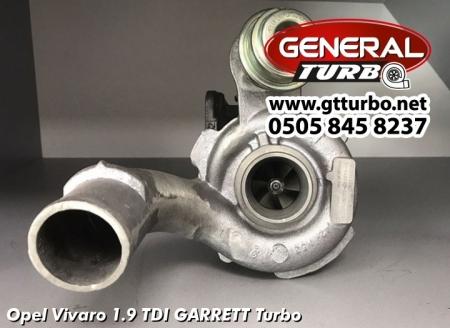 Opel Vivaro 1.9 TDI GARRETT Turbo