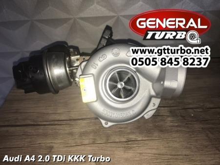 Audi A4 2.0 TDi KKK Turbo