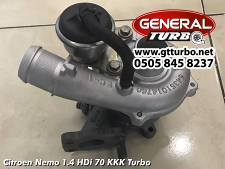 Citroen Nemo 1.4 HDi 70 KKK Turbo
