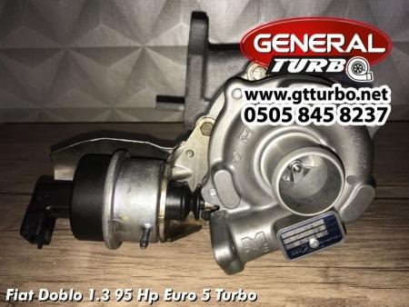 Fiat Doblo 1.3 95 Hp Euro 5 Turbo