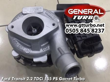 Ford Transit 2.2 TDCi 155 PS Garret Turbo