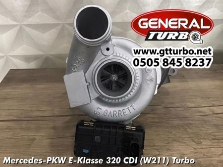 Mercedes-PKW E-Klasse 320 CDI (W211) Turbo