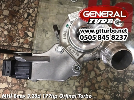 MHI Bmw 3.20d 177hp Orjinal Turbo