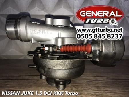 NİSSAN JUKE 1.5 DCI KKK Turbo