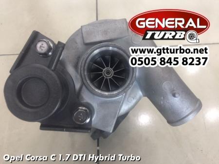 Opel Corsa C 1.7 DTI Hybrid Turbo