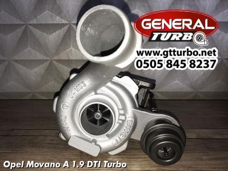 Opel Movano A 1.9 DTI Turbo