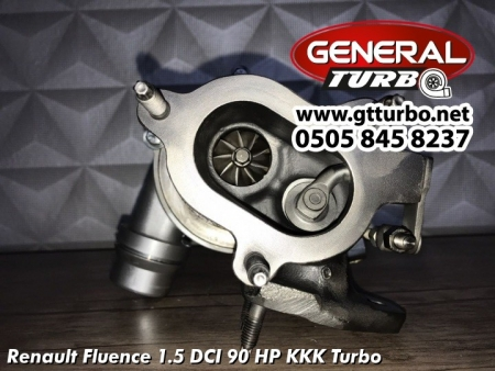 Renault Fluence 1.5 DCI 90 HP KKK Turbo