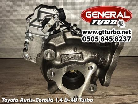 Toyota Auris-Corolla 1.4 D-4D Turbo