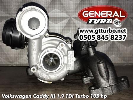 Volkswagen Caddy III 1.9 TDI Turbo 105 hp