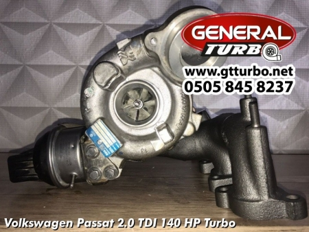 Volkswagen Passat 2.0 TDI 140 HP Turbo